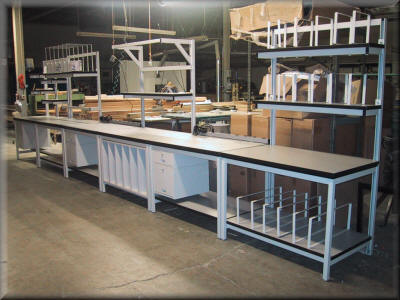 Packaging And Assembly Tables Photo Gallery