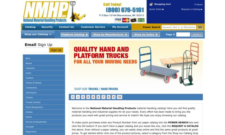 National Material Handling Products